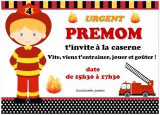 Agencer et Mijoter: DIY Anniversaire pompier 4 ans