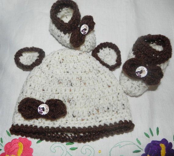 Scarpette e cappellino bambini unisex misto di Ciuppinociuppinino