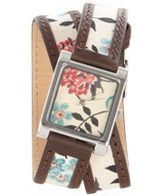 Liberty of London Fairfield print wrap watch...great color combo