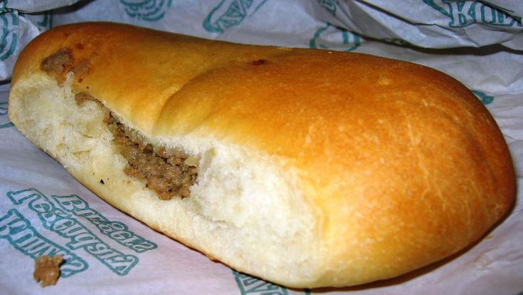 Nebraska Runzas...make these all the time and freeze them for an easy meal later.