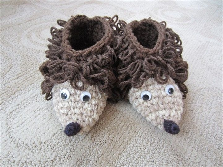 15 Easy To Make Crochet Baby Animals Slippers | DIY to Make