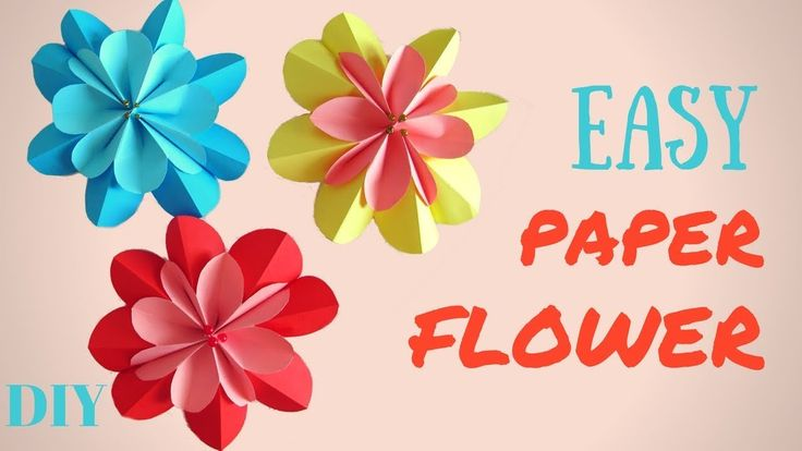 In this tutorial I will show you how to make a hand-made 3D paper flower. On the eve of the spring, I really want something bright and sunny at home, so I de...
