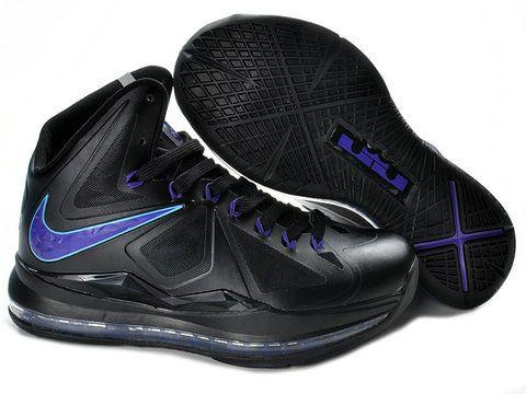 4cbc6795df0a Buy Cheap Nike Zoom Lebron X 10 541100 300 Dunkman Black Green W ...