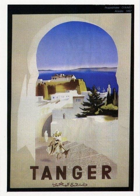 Auteur_inconnu_AFFICHE_REPRESENTANT_LA_PORTE_DE_LA_CASBAH__1957
