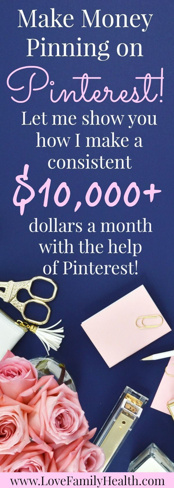#Blogging Make Money with your blog pinning on Pinterest!