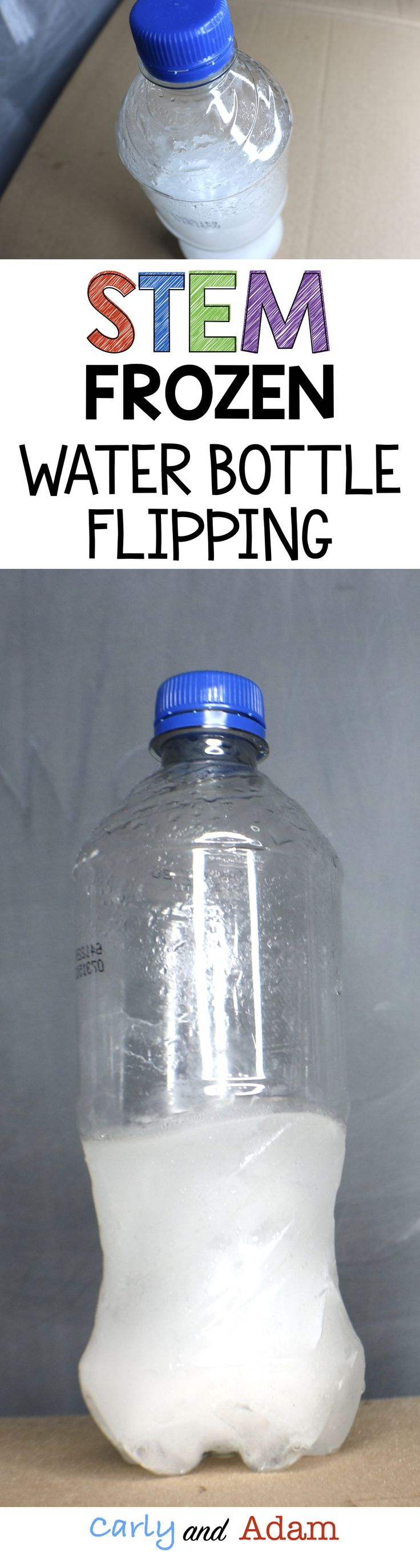 Students will investigate which water level is best for bottle flipping as well as if frozen or liquid water works best.