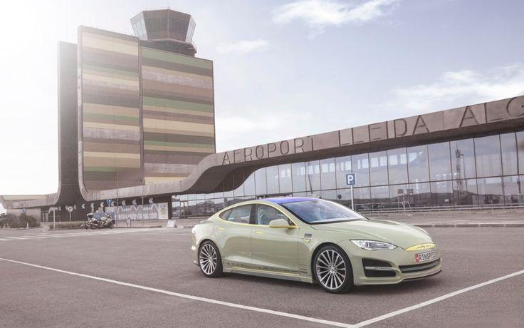 Autonomous-driving-tesla-model-s-rinspeed