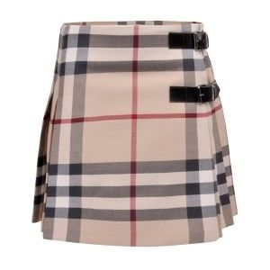 Burberry house check plaid ~ love this skirt it's a staple on my wardrobe for winter