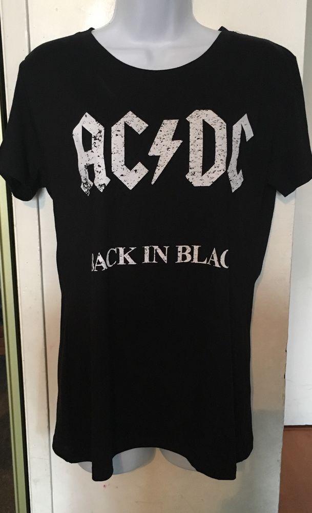 AC DC Womens T Shirt XL | eBay