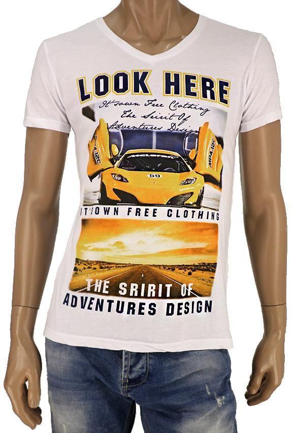 Ανδρικό t-shirt βε MPLU-0150