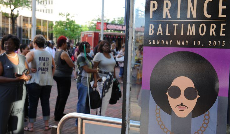 "Thousands turn out for Prince's 'Rally 4 Peace' benefit concert  Devoted fans like Luther Washington said Prince's ""Rally 4 Peace"" concert Sunday was just what Baltimore needed to heal after massive protests shook the city in recent weeks.  http://www.baltimoresun.com/entertainment/music/bs-md-prince-concert-20150510-story.html"