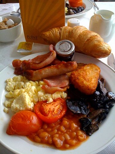 Full English Breakfast      http://www.gone-ta-pott.com