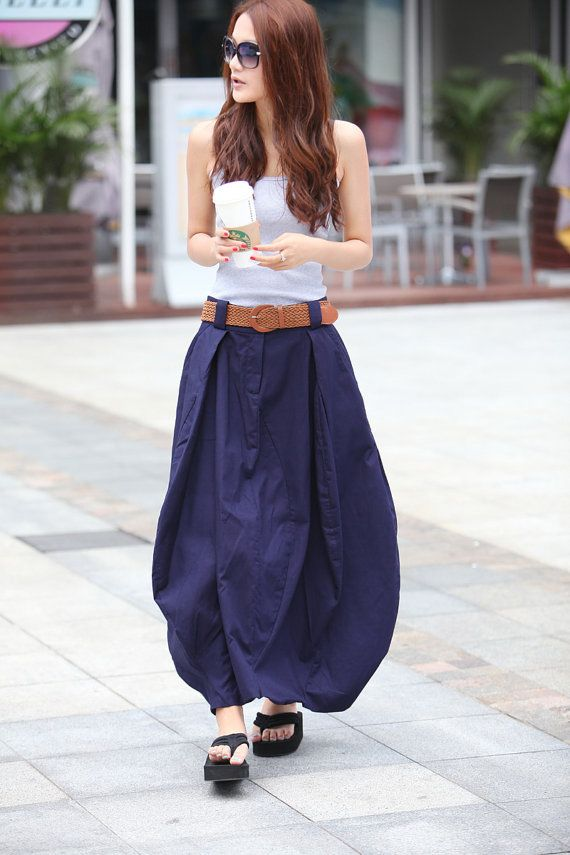 Hey, I found this really awesome Etsy listing at http://www.etsy.com/listing/100539275/romantic-navy-blue-pretty-linen-bud-long