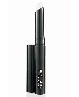 MAC Prep + Prime Lip  - Macy's-A colour-free base to wear under lipstick. Adds light moisture, smoothes and refines the lips. Improves the appearance of applied lip products.Stops lipstick from feathering and bleeding.