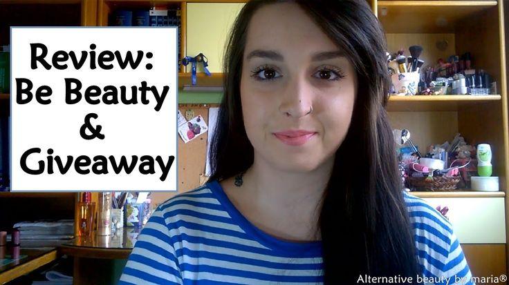 Review: Be Beauty gr & GIVEAWAY| Alternative beauty