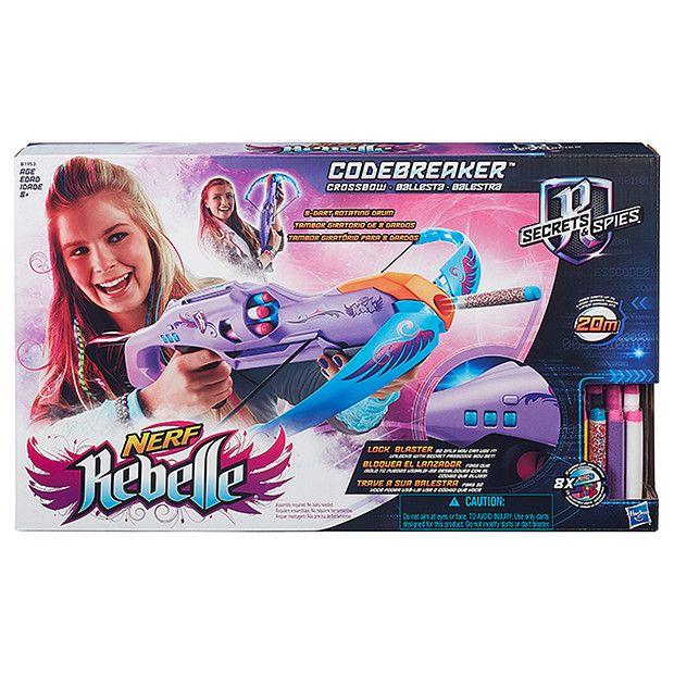 NERF Rebelle Codebreaker Crossbow $14 @ Target