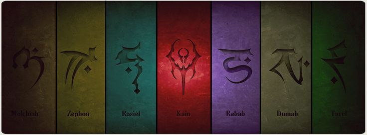 Soul Reaver Clan Symbols