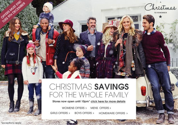 Christmas Banner from Matalan #Web #Digital #Banner #Online #Marketing #Fashion #Savings #Christmas
