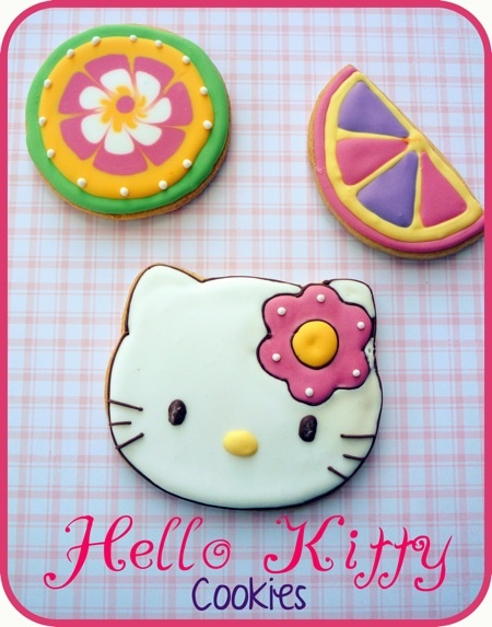 {Cookies} Hello Kitty Cookies   That Cute Little Cake