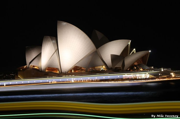 One of my favourite sights of all time, Sydney Opera House.
