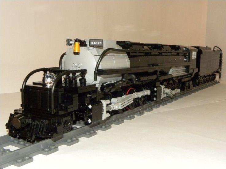 Big Boy Train Toys : Best images about lego trains railway locomotives on