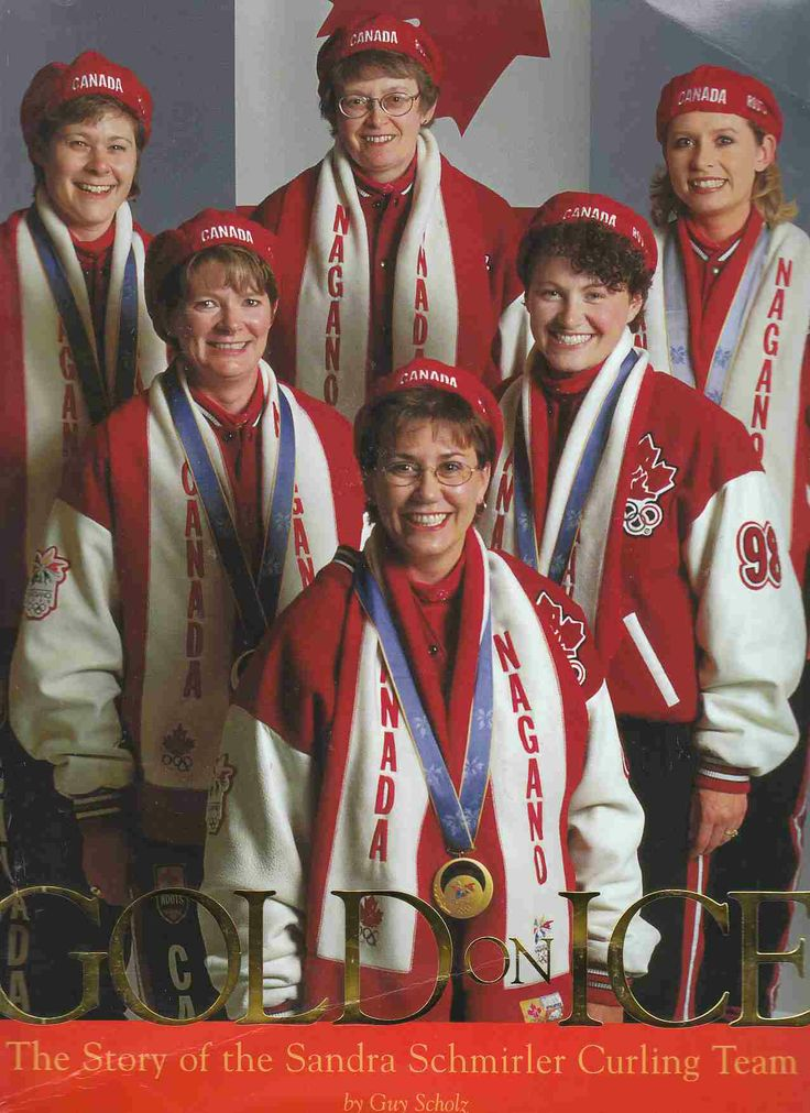 Gold on Ice: the Story of the Sandra Schmirler Curling Team, by Guy Scholz.