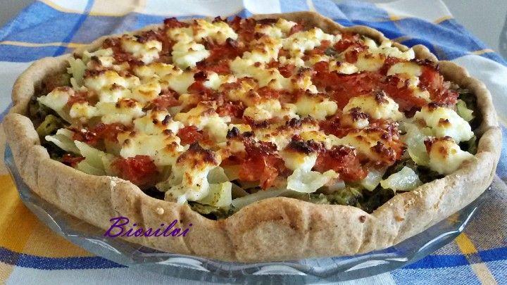Torta salata di farro con broccoli | Biosilvi