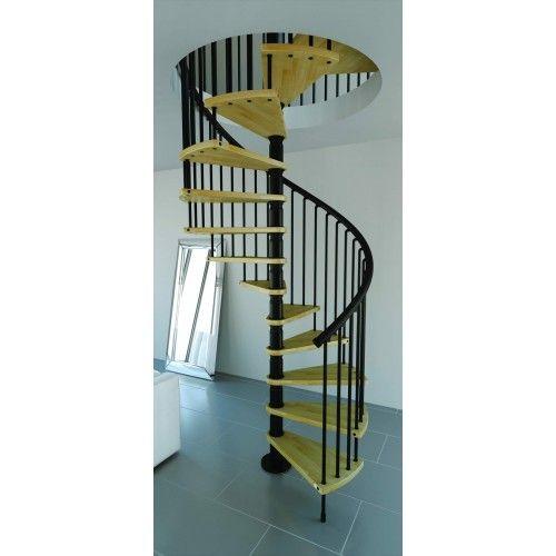 Best Rintal Gamia 63 Diameter Wood Tread Spiral Stairs In 2020 640 x 480