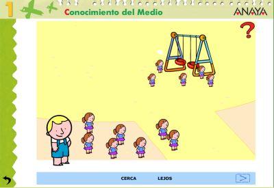 Actividades para Educación Infantil: Orientación espacial ANAYA