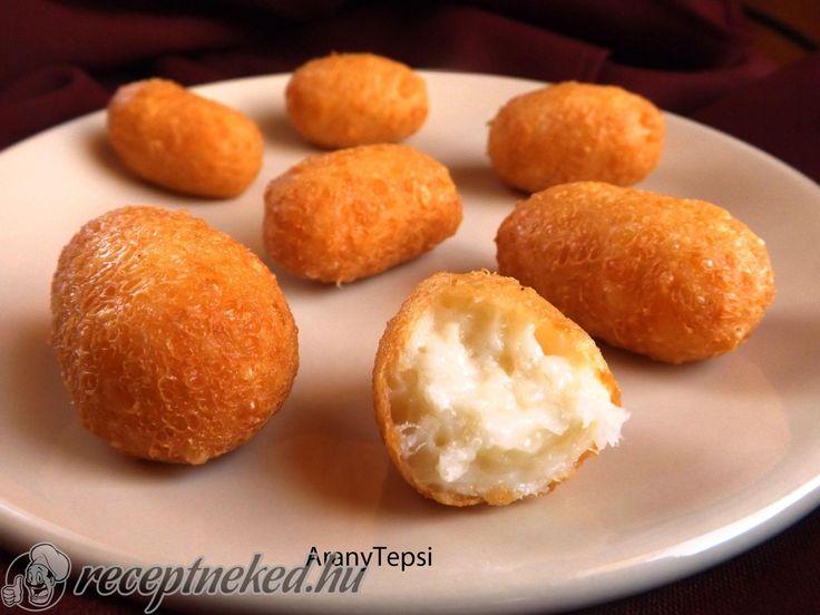 A legjobb Egyszerű sajtkrokett recept egyenesen a Receptneked.hu gyűjteményéből