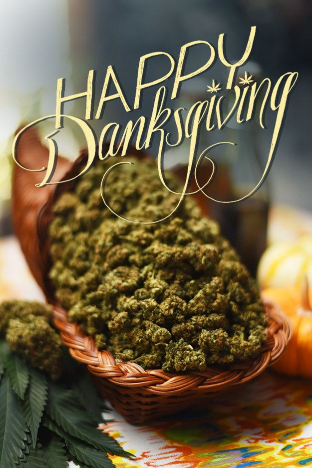 & a traditional Thanksgiving meal makes people tired?! Id love to witness the effects of THIS feast LOL!!  13 Thanksgiving Recipes With Weed In Them