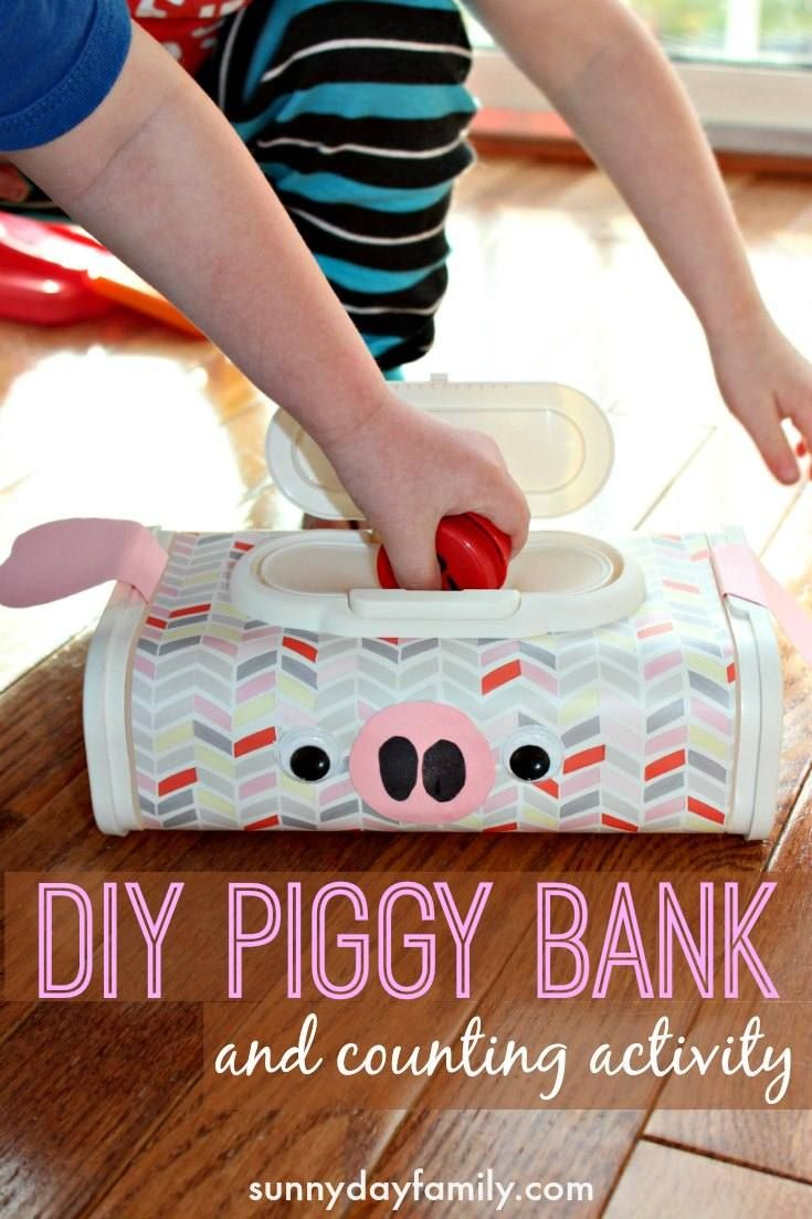 294 best images about numbers and maths on pinterest for How to make a simple piggy bank