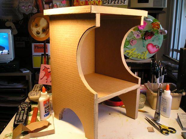 Cardboard - step by step Photo tutorial - Bildanleitung