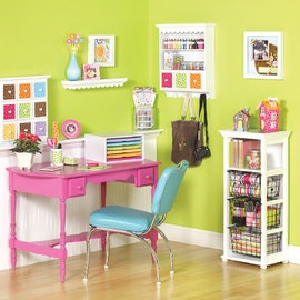 Love this for a desk in the girls room
