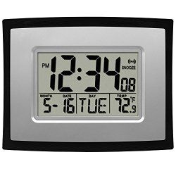 Best Electronic LCD Wall Clock for Sale on Amazon Review http://ift.tt/20USdp5