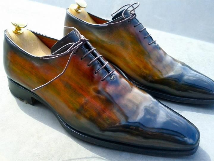 Suede Shoes Dye Patina