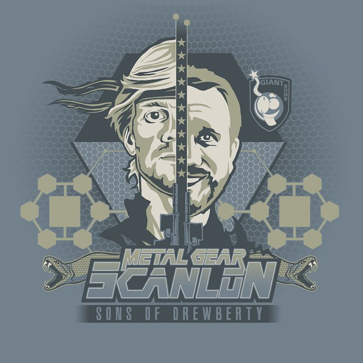 Sons of Drewberty Tshirt Design - Metal Gear Solid 2: Sons of Liberty - Giant Bomb