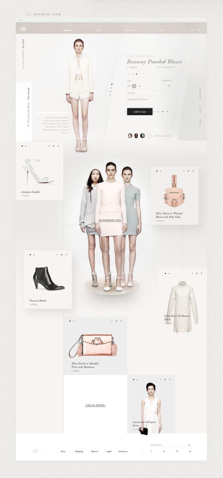 Alexander Wang Redesign Concept - UltraLinx