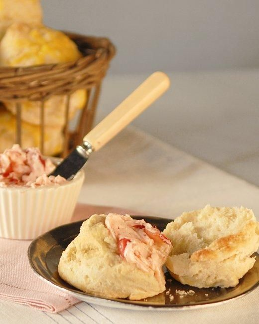 Strawberry Butter Recipe: Buttermilk Biscuits, Hot Biscuits, Butter ...