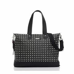 Storksak Changing Bag - Tote in Diamonds Black