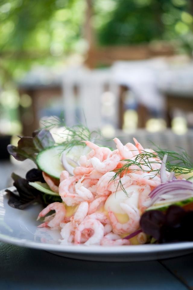 Räkmacka-  Swedish prawn sandwich