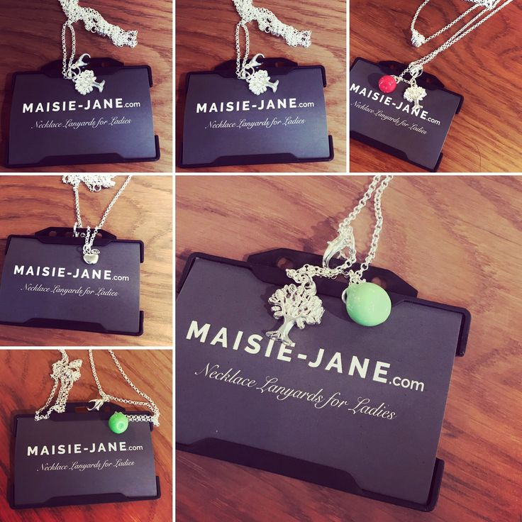 Maisie Jane Necklace Lanyards make a perfect Teachers gift available now!