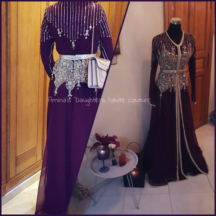 Coup de coeur ✂️ Handmade caftan ✂️ Création by Amina's Daughters haute couture Pour plus d'informations sur le prix , merci de nous contacter au 06 32 95 36 44 , on est à votre disposition Ps :tenue sur commande #Hautecouture #SWAROVSKI #LOUBOUTIN #caftan #modern #fashion #style #morocco #dubai #mydubai #qatar #doha #emirates #bahrain #kuwait #london #ksa #مغربي #المغرب #فاشن #الخليج #السعودية #الامارات #surcommande #AMINASDAUGHTERS #hollande #amesredam #france #parisienne