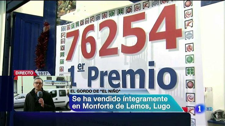 Lotería del NIÑO 2014 : 76.254 Primer premio cae en Monforte de Lemos (#Lugo)