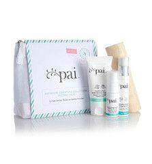 Un kit con productos básicos para mantener cuidada una piel muy sensible.