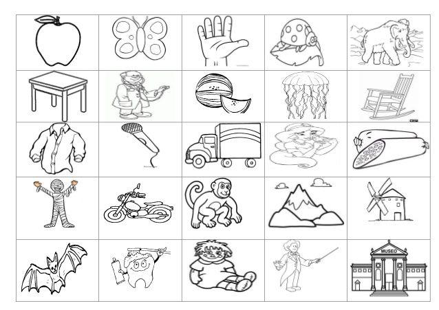 Resultado De Imagen Para Dibujos Que Empiezan Con M Documentos
