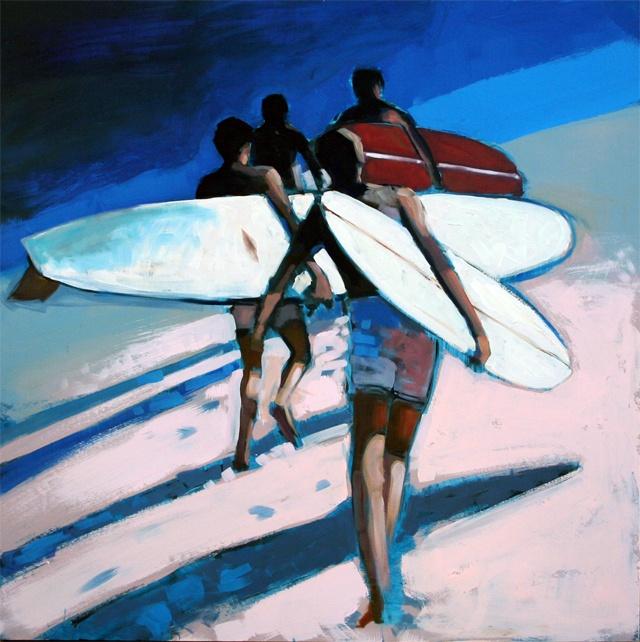 la curva  #surf #surfbaords #oil_painting #longboards #logging #log #art