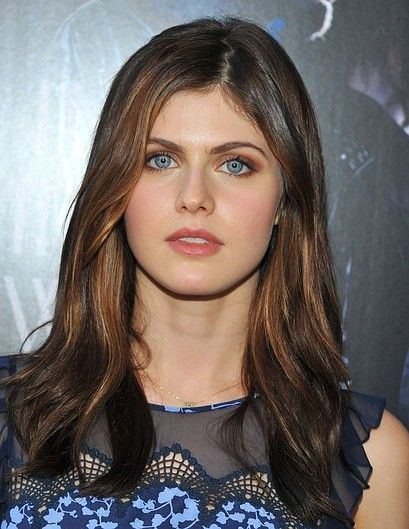 Alexandra Daddario! She is gorgeous and her eyes are so striking!