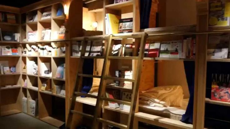 Book and Bed Bagi Para Pelancong yang Kutu Buku