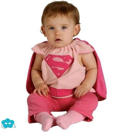 Disfraz Supergirl para bebé